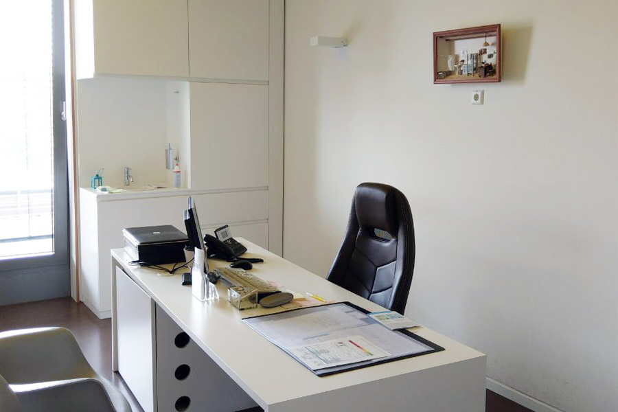 Lungenarzt Praxis - Behandlungszimmer